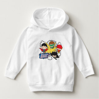 Chibi Justice League of America Explosion Hoodie