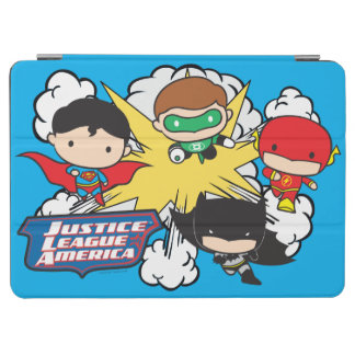 Chibi Justice League of America Explosion iPad Air Cover