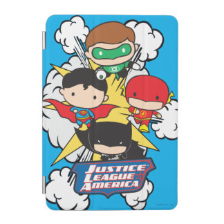 Chibi Justice League of America Explosion iPad Mini Cover