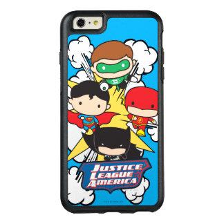Chibi Justice League of America Explosion OtterBox iPhone 6/6s Plus Case