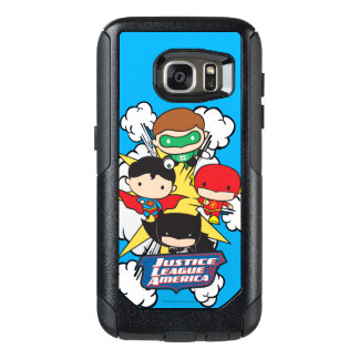 Chibi Justice League of America Explosion OtterBox Samsung Galaxy S7 Case