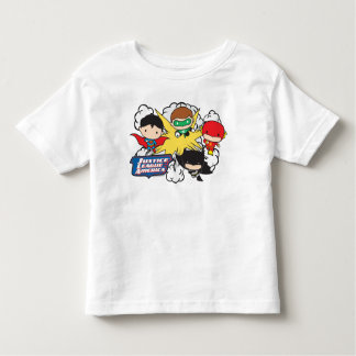 Chibi Justice League of America Explosion Toddler T-Shirt