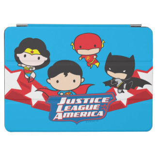 Chibi Justice League of America Stars iPad Air Cover