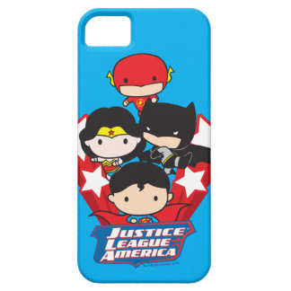 Chibi Justice League of America Stars iPhone 5 Cases
