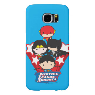 Chibi Justice League of America Stars Samsung Galaxy S6 Cases