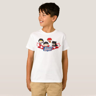 Chibi Justice League of America Stars T-Shirt