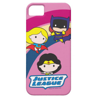 Chibi Justice League Rainbow Barely There iPhone 5 Case