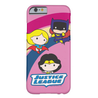Chibi Justice League Rainbow Barely There iPhone 6 Case
