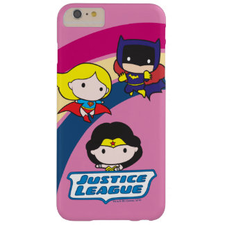 Chibi Justice League Rainbow Barely There iPhone 6 Plus Case