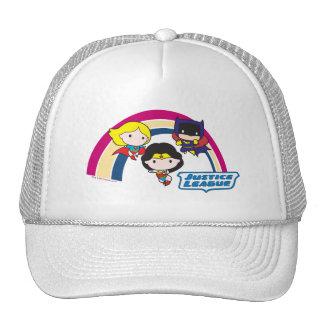 Chibi Justice League Rainbow Cap