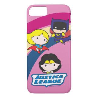 Chibi Justice League Rainbow iPhone 7 Case