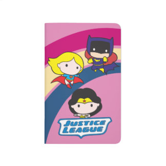 Chibi Justice League Rainbow Journal