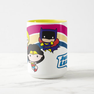 Chibi Justice League Rainbow Mug