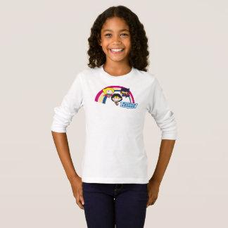 Chibi Justice League Rainbow T-Shirt