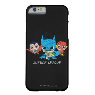 Chibi Justice League Sketch Barely There iPhone 6 Case