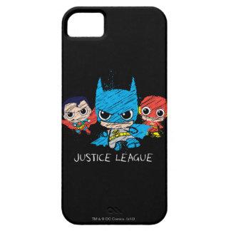 Chibi Justice League Sketch iPhone 5 Case