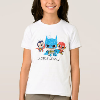 Chibi Justice League Sketch T-Shirt