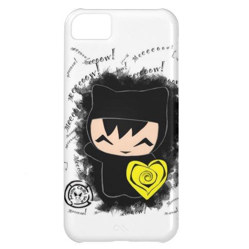 Chibi Kitty iPhone 5C Cases