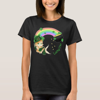 Chibi leprechaun girl T-Shirt