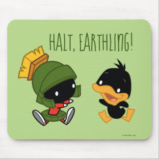 Chibi MARVIN THE MARTIAN™ & DAFFY DUCK™ Mouse Pad