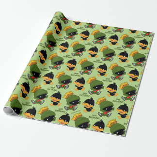 Chibi MARVIN THE MARTIAN™ & DAFFY DUCK™ Wrapping Paper