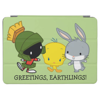 Chibi MARVIN THE MARTIAN™, TWEETY™, & BUGS BUNNY™ iPad Air Cover