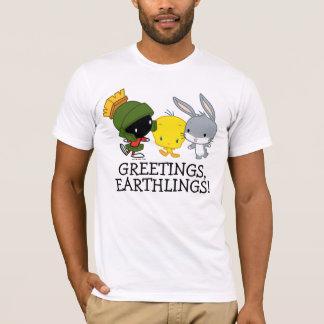 Chibi MARVIN THE MARTIAN™, TWEETY™, & BUGS BUNNY™ T-Shirt