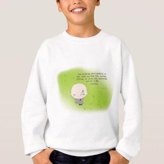 Chibi Monk - Zen Quote Baseball Cap Sweatshirt