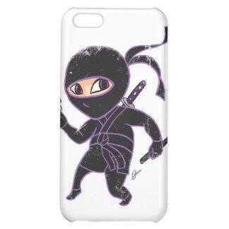 Chibi Ninja (distressed) iPhone 5C Cases