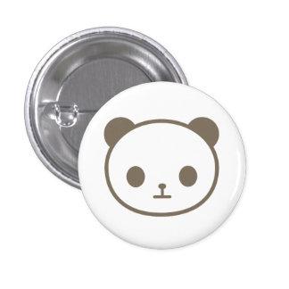 chibi panda 3 cm round badge
