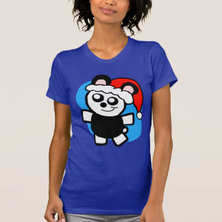 Chibi Panda Santa Shirt