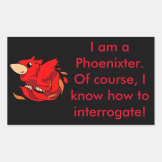Chibi Phoenix Sticker