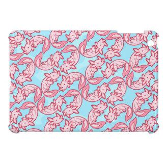 Chibi pink Axolotl pattern Chido Case For The iPad Mini