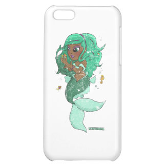 Chibi Pisces (distressed) Cover For iPhone 5C