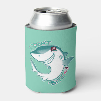 Chibi Shark Can Cooler