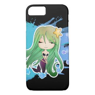 Chibi Siren - green iPhone 7 Case