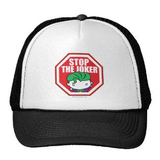 """Chibi """"Stop The Joker"""" Sign Cap"""