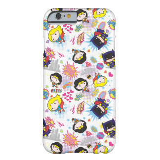 Chibi Super Heroine Pattern Barely There iPhone 6 Case