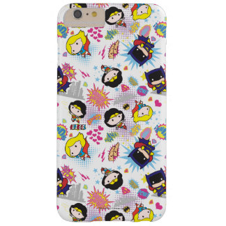 Chibi Super Heroine Pattern Barely There iPhone 6 Plus Case
