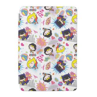 Chibi Super Heroine Pattern iPad Mini Cover