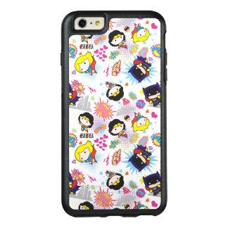Chibi Super Heroine Pattern OtterBox iPhone 6/6s Plus Case