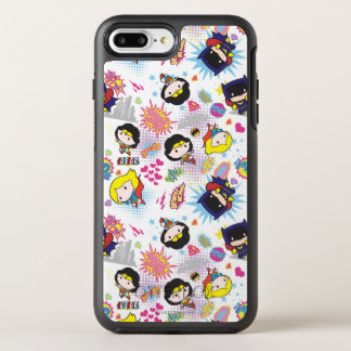 Chibi Super Heroine Pattern OtterBox Symmetry iPhone 8 Plus/7 Plus Case