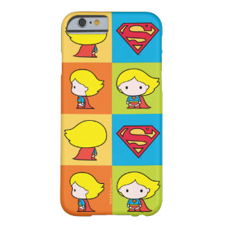 Chibi Supergirl Character Turnaround Barely There iPhone 6 Case