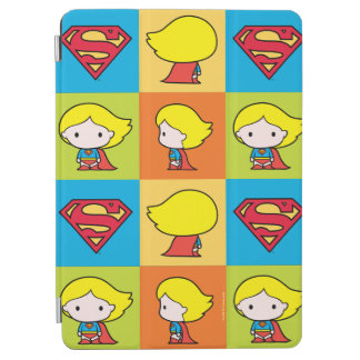 Chibi Supergirl Character Turnaround iPad Air Cover