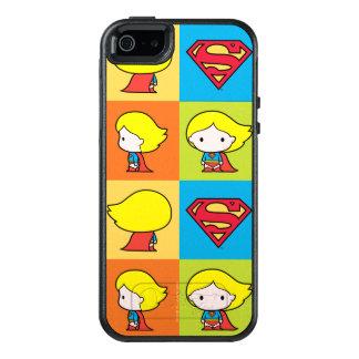 Chibi Supergirl Character Turnaround OtterBox iPhone 5/5s/SE Case