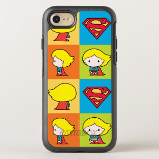Chibi Supergirl Character Turnaround OtterBox Symmetry iPhone 8/7 Case