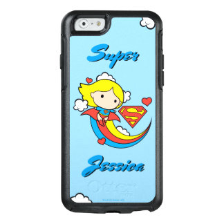 Chibi Supergirl Flying Rainbow OtterBox iPhone 6/6s Case