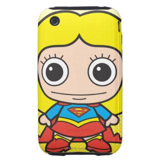 Chibi Supergirl iPhone 3 Tough Cover