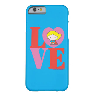 Chibi Supergirl LOVE Barely There iPhone 6 Case