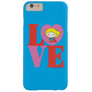 Chibi Supergirl LOVE Barely There iPhone 6 Plus Case